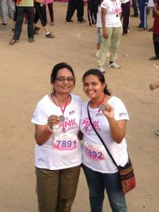 With our Medals....